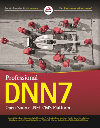 WROX Professional DNN7 Open Source .NET CMS Platform